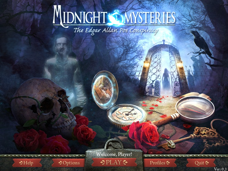 Скриншот #6 Midnight Mysteries: The Edgar Allan Poe Conspiracy