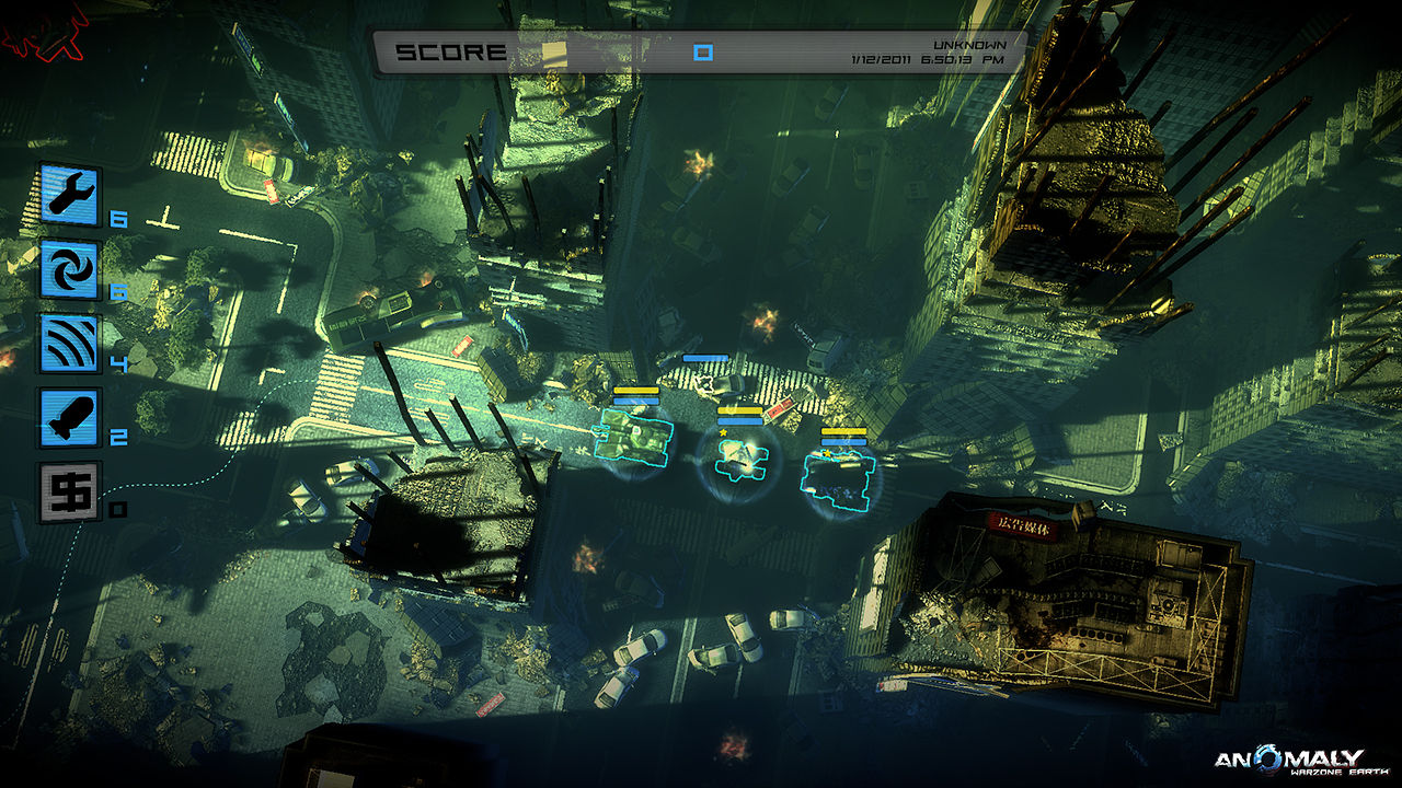 Скриншот из игры Аномалия: Поле битвы - Земля