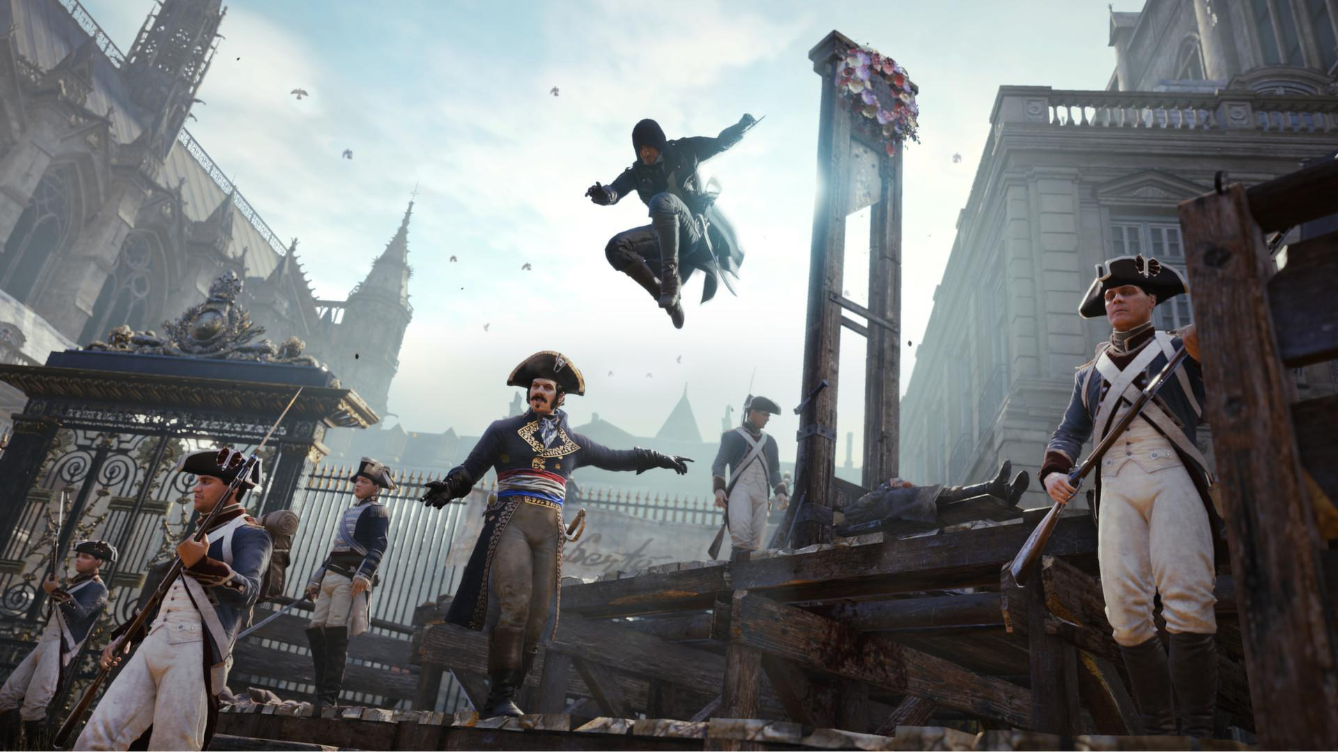 Assassin's Creed Unity in Assassin's Creed Games, Ranked From Worst to Best - 1
