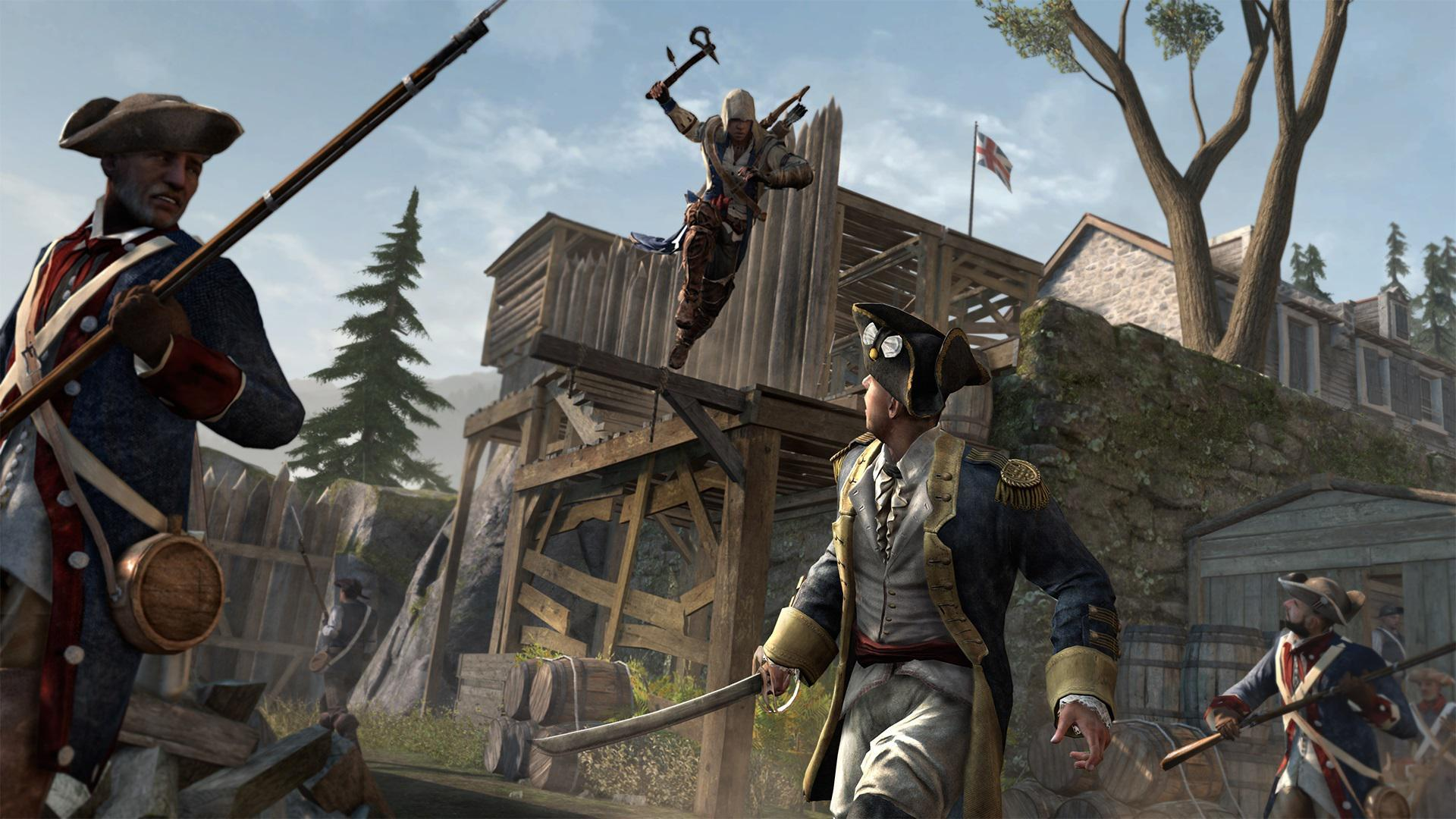 Assassin's Creed III in Assassin's Creed Games, Ranked From Worst to Best - 1