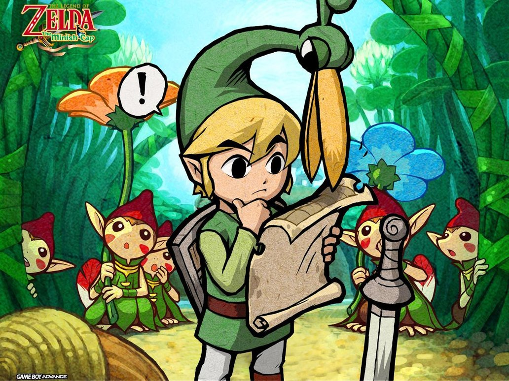 The Legend of Zelda: The Minish Cap in Grow/Shrink Yourself - 1